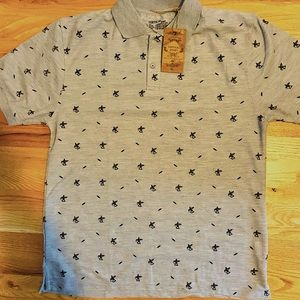 Vertical sport polo  shirt